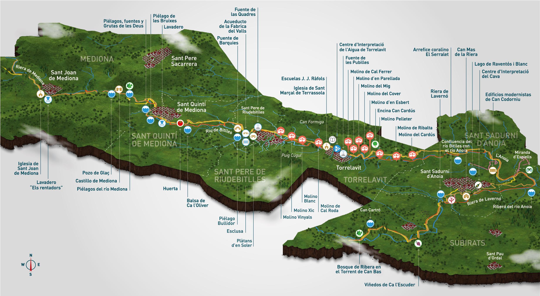 mapa molins torrelavit_cast